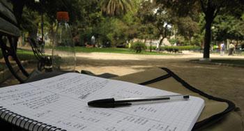 lernen im park