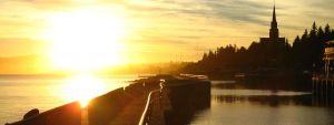 Bariloche bei Sonnenaufgang