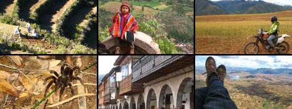 IslaDelSol - ValleSagrado - Toeffahren - Urwaldtrip - Cusco - Paragliding