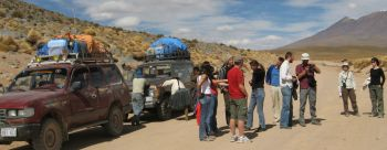 Autopanne im Altiplano